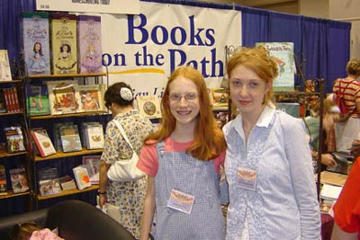 A the Books on the Path booth